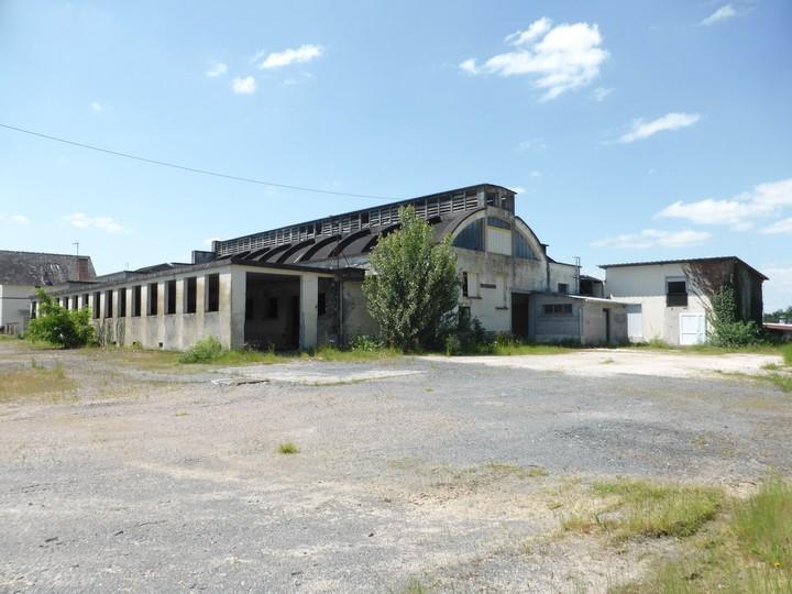 Vue de l'ancien abattoir Mazière à Allassac
